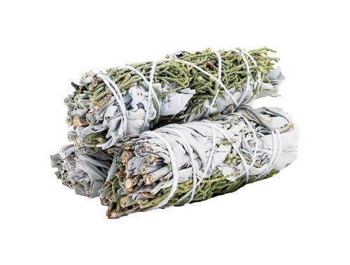 10cm White Sage and Juniper Purifying Smudge Stick-Smudge Stick-Serenity Gifts