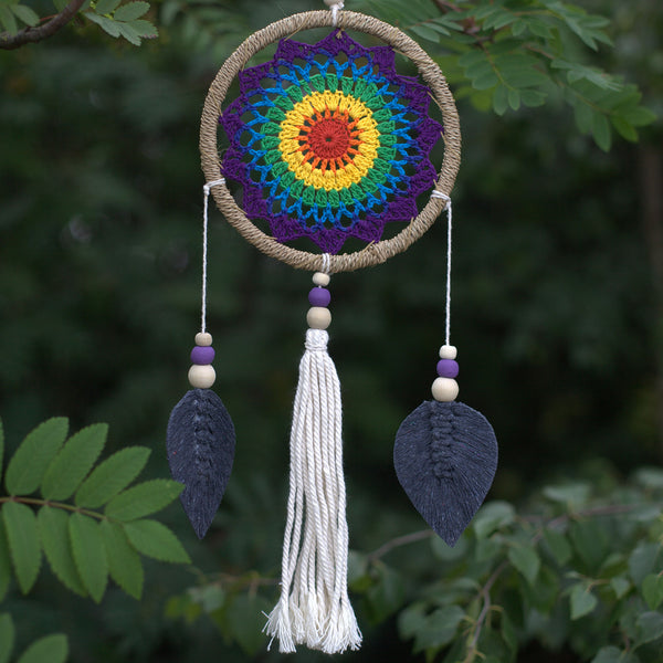 Chakra Rainbow Dreamcatcher - Elemental-Dreamcatcher-Serenity Gifts