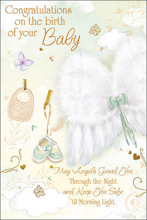 Greeting Card - Congratulations Baby-Baptism & Christening-Serenity Gifts