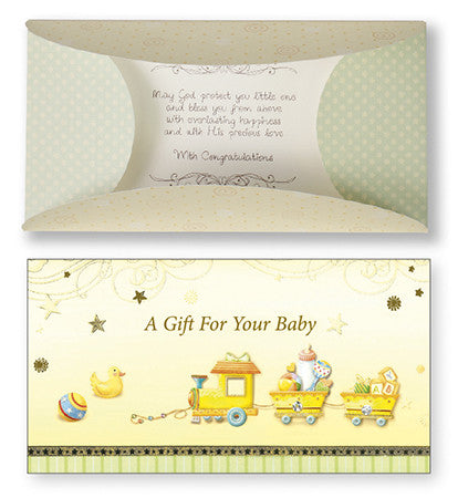 Money Gift Card Wallet - A Gift For Your Baby-Baptism & Christening-Serenity Gifts