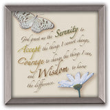 Serenity Prayer Silver Plaque-Plaque-Serenity Gifts