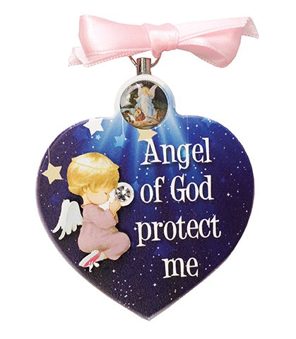 Angel of God Protect Me - Girl-Baptism & Christening-Serenity Gifts