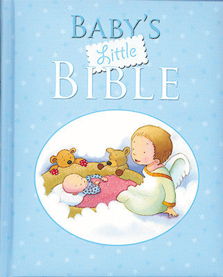 Baby's Little Bible - Blue-Baptism & Christening-Serenity Gifts