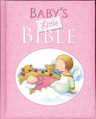 Baby's Little Bible - Pink-Baptism & Christening-Serenity Gifts