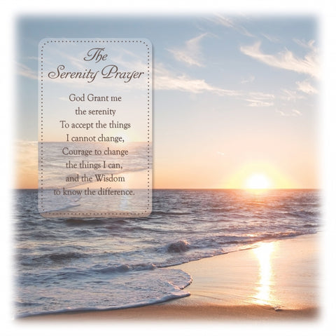 Serenity Prayer Greeting Card - Blank-Greeting Card-Serenity Gifts