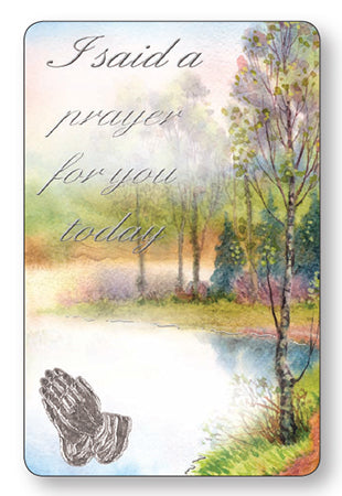 Prayer Card - I Said a Prayer For You - Lakeside-Prayer Card-Serenity Gifts