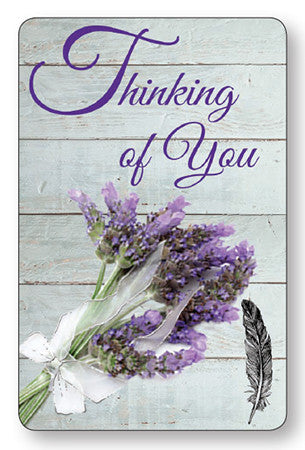 Prayer Card - Thinking Of You - Serenity Gifts