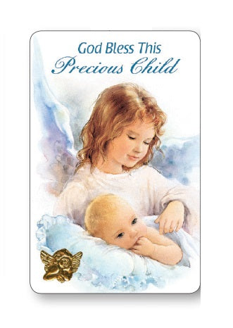 Prayer Card - Precious Child - Boy-Prayer Card-Serenity Gifts