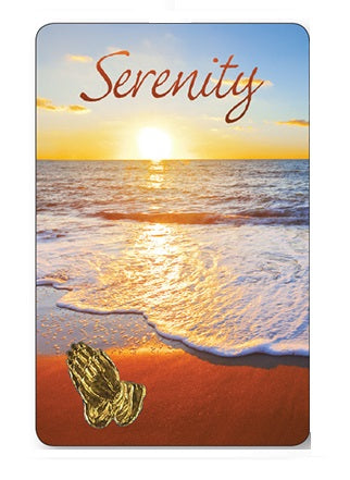 Prayer Card Serenity - Ocean-Prayer Card-Serenity Gifts