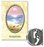 Pocket Token and Leaflet - Footprints-Pocket Token-Serenity Gifts