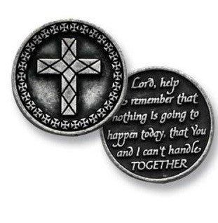 Pocket Token Christian Faith Power Of Prayer Serenity