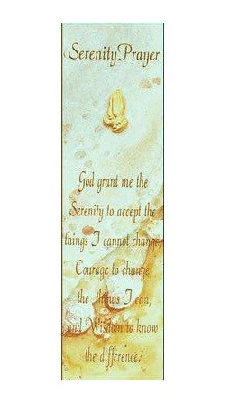 Serenity Verse - Praying Hands Lapel Pin on Card-Bookmark-Serenity Gifts