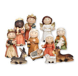 "Childrens Nativity Figures - Resin 2.5""-Nativity-Serenity Gifts"