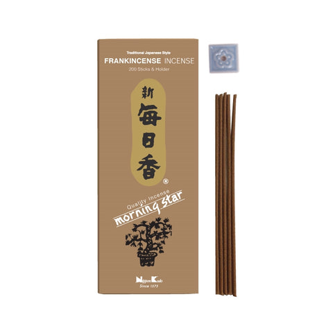 Japanese Incense Large Pack - Morning Star Frankincense-Incense-Serenity Gifts