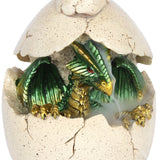 Baby Green Dragon in Egg Backflow Incense Burner-Incense-Serenity Gifts