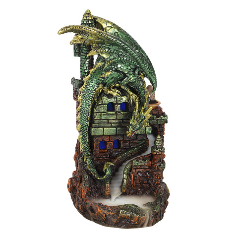 Dragon Castle Backflow Incense Burner-Incense-Serenity Gifts