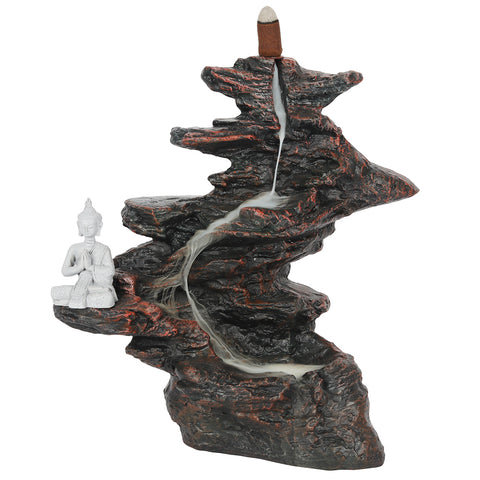 Mountain Buddha Backflow Incense Burner-Incense-Serenity Gifts