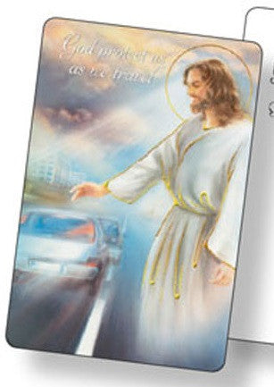 Prayer Card - Protect Us As We Travel-Prayer Card-Serenity Gifts