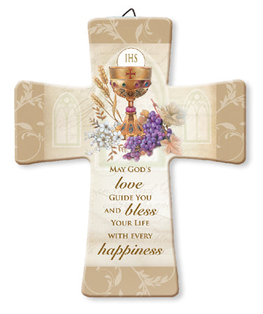First Holy Communion Porcelain Cross-Cross-Serenity Gifts