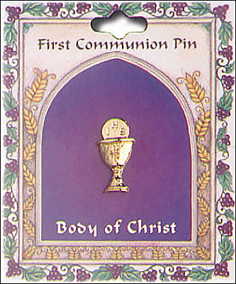 First Holy Communion Pin - Chalice-Lapel Pin-Serenity Gifts