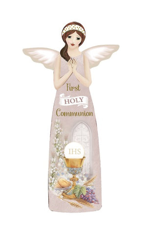 Communion Porcelain Message Angel-Figurine-Serenity Gifts