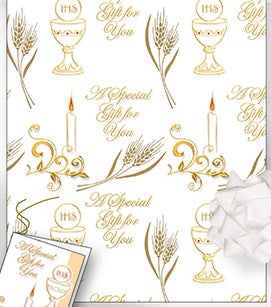 First Communion Gift Wrap - Special Gift For You-Holy Communion-Serenity Gifts