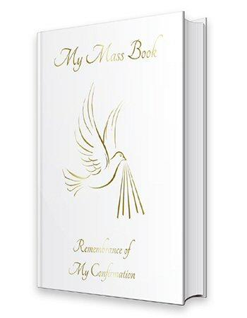 Confirmation Prayer Book - My Mass Book-Confirmation Gift-Serenity Gifts