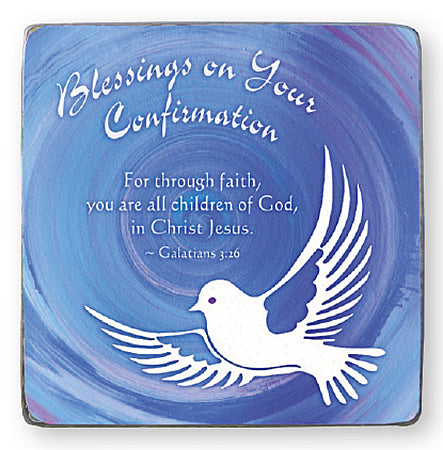 Confirmation Blessings - Metal Plaque-Confirmation Gift-Serenity Gifts