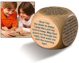 Wooden Prayer Cube - Bedtime Prayers-Prayer Cube-Serenity Gifts