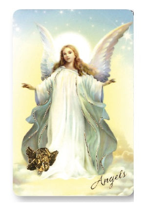 Prayer Card - Angel-Prayer Card-Serenity Gifts