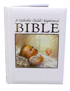 Catholic Child's Baptismal Bible-Baptism & Christening-Serenity Gifts