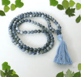 Handmade Mala Beads - Blue Bead Mix-Mala Beads-Serenity Gifts