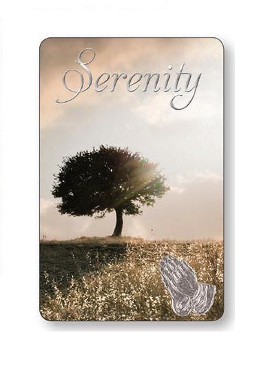 Prayer Card with Tree - Serenity Verse-Prayer Card-Serenity Gifts