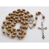 Confirmation Rosary - Brown Wood-Confirmation Gift-Serenity Gifts