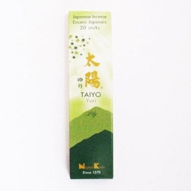 Japanese Incense - Taiyo Yuri Lily-Incense-Serenity Gifts