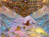 Birthday Greeting Card - Josephine Wall - Fly Me to the Moon-Greeting Card-Serenity Gifts