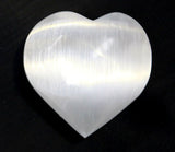 Selenite Heart Gemstone - Meditation Aid - Serenity Gifts  - 2