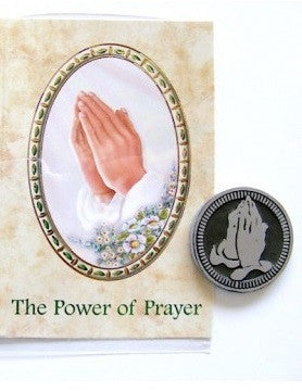 Pocket Token and Leaflet - Power of Prayer-Pocket Token-Serenity Gifts