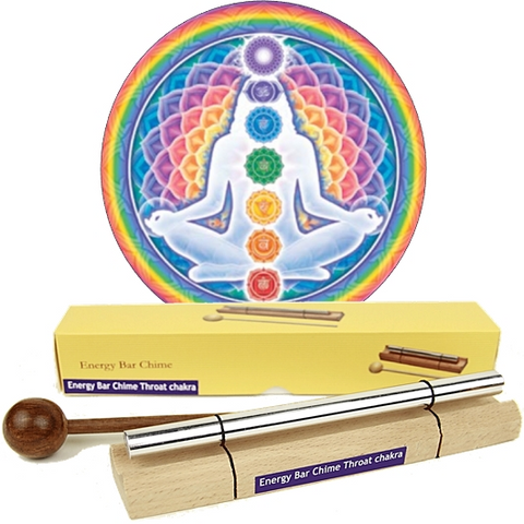 Chime Bar - Throat Chakra Sound Healing-Meditation-Serenity Gifts
