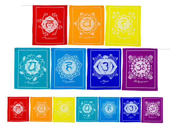Prayer Flags - Chakra-Chakra Gifts-Serenity Gifts