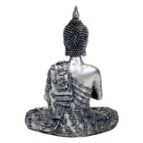 Buddha Tea Light Candle Holder - Silver-Tea Light Holder-Serenity Gifts