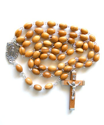 Olive Wood Rosary from the Holy Land-Rosary Beads-Serenity Gifts