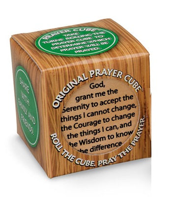 Wooden Prayer Cube - 6 Prayers-Prayer Cube-Serenity Gifts