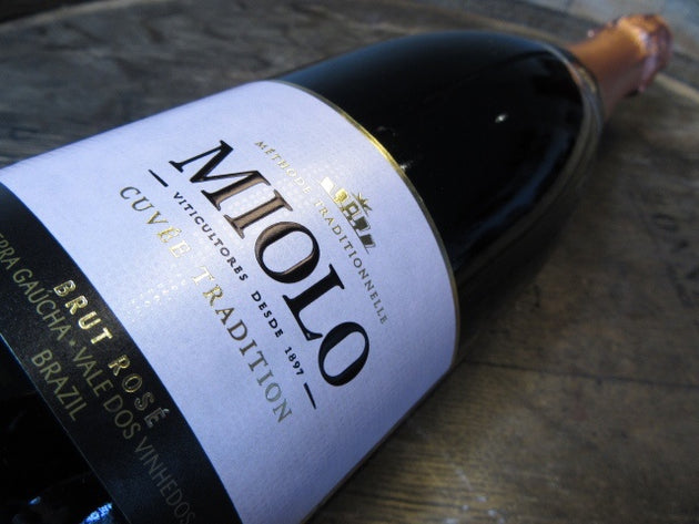 Miolo Cuvee Tradition Brut Rose Brazilian