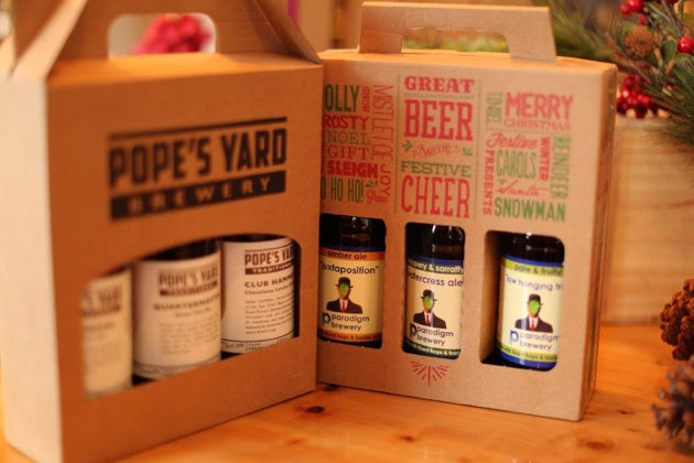 Pope's yard gift pack small bottles