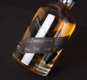Waxhouse Whisky Co. Single Cask Release 1 -  8yo Highland Single Malt