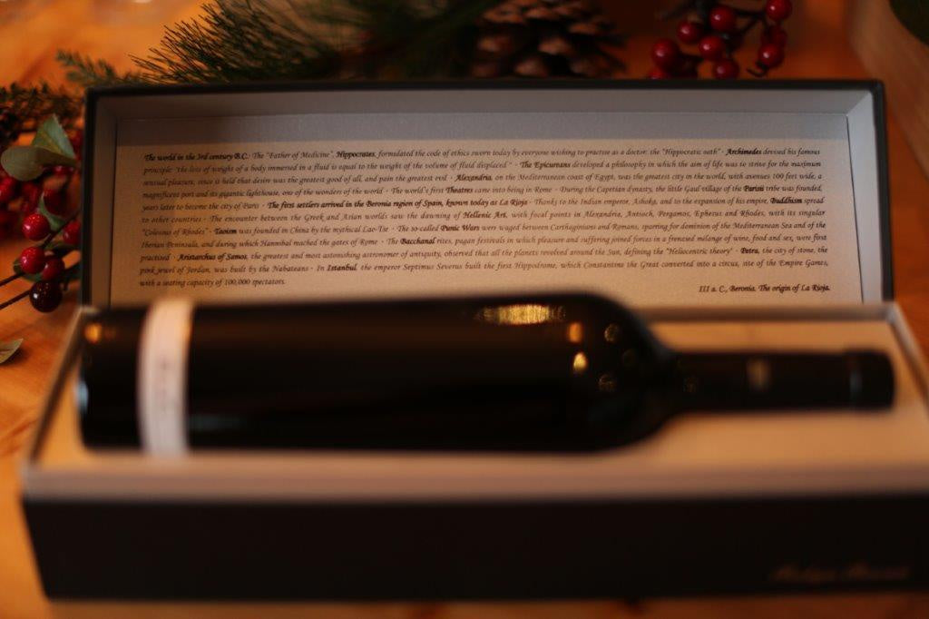 Beronia III ac 2012 Gift box - Cellar Door Wines