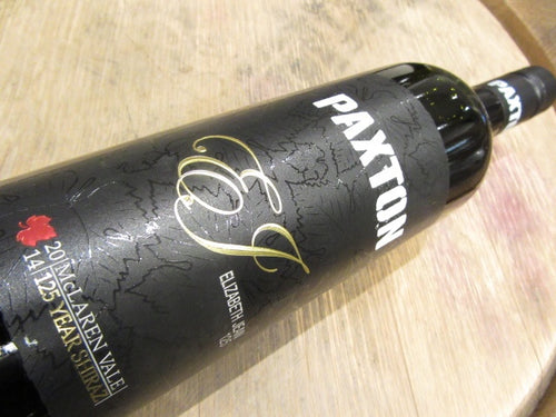Paxton EJ 125 year old SV Shiraz