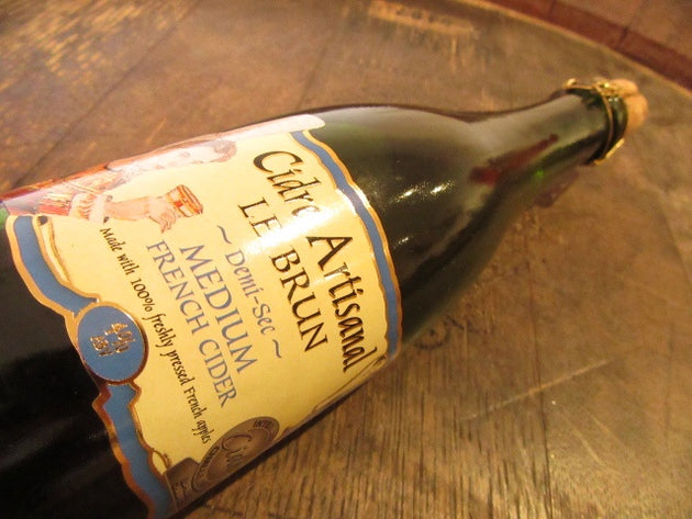 Cidre le Brun Medium, 37.5cl