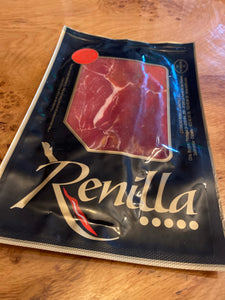 Pata Negra Cured Sliced Serano Ham 100g